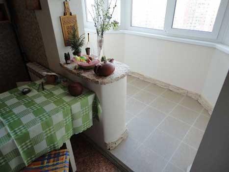 фото кухни совмещение