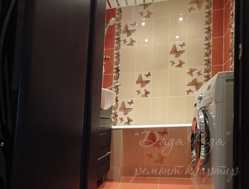 Кафель с бабочками