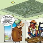 Человек-паук сделает Натяжной потолок!