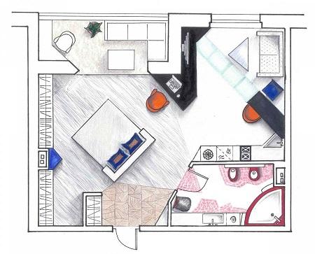 Последовательность ремонта однокомнатной квартиры