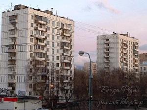 Блочный дом в Москве