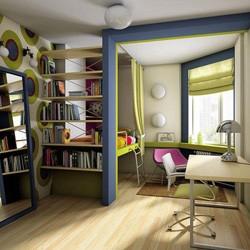 Интерьер гостиной в стиле Конструктивизм